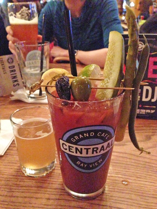 Cafe Centraal bloody mary