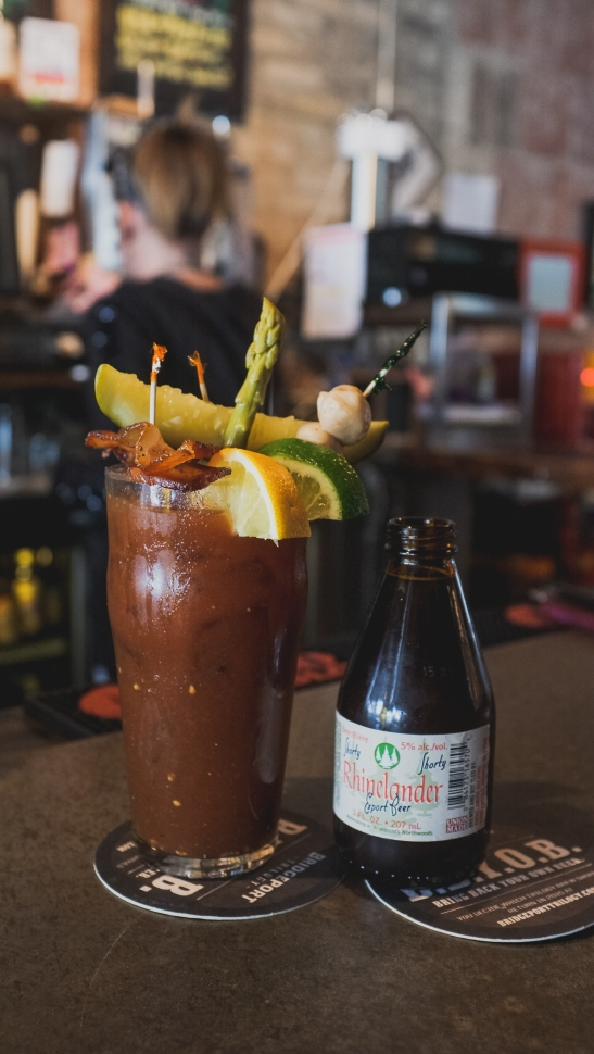 Riverwest Filling Station Bloody Mary